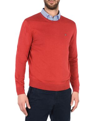 NAPAPIJRI DAKSHIN CREW MAN CREWNECK SWEATER,RED