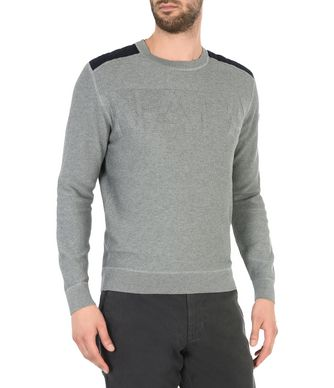 NAPAPIJRI DULEDA MAN CREWNECK SWEATER,GREY