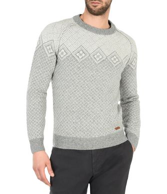 NAPAPIJRI DAQU MAN CREWNECK SWEATER,GREY