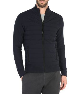 NAPAPIJRI DULEDA FULL ZIP MAN ZIP JUMPER,DARK BLUE