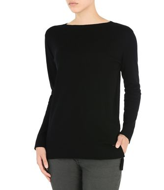 NAPAPIJRI DAME  WOMAN LONG SLEEVE SWEATER,BLACK