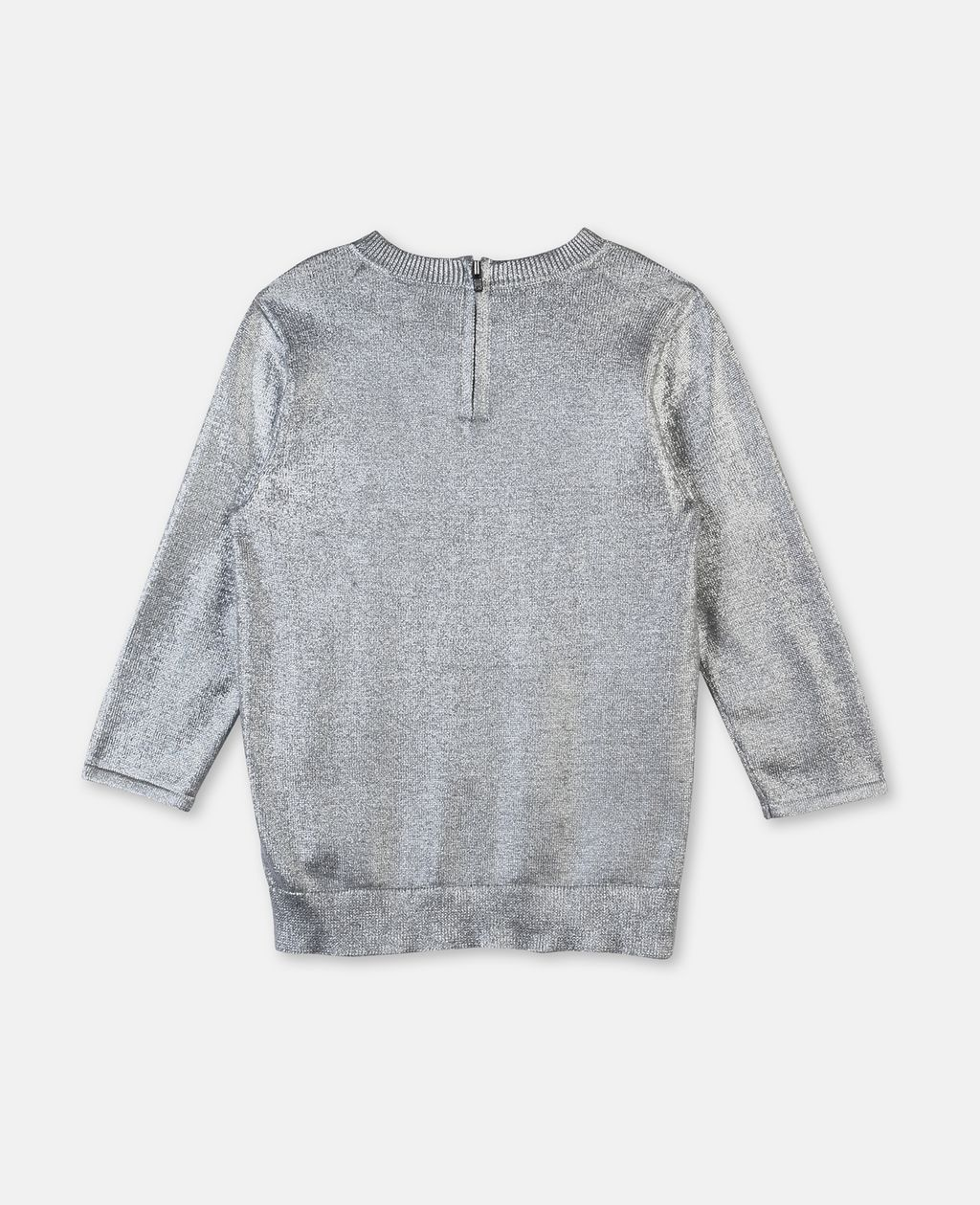 Jewel Silver Coated Sweater - STELLA MCCARTNEY KIDS