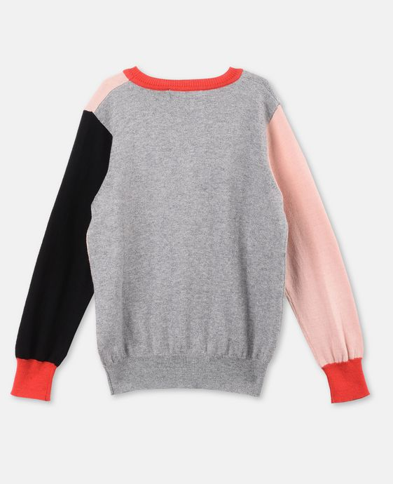 STELLA McCARTNEY KIDS Lucky Profile Knit Sweater Jumpers & Cardigans D i