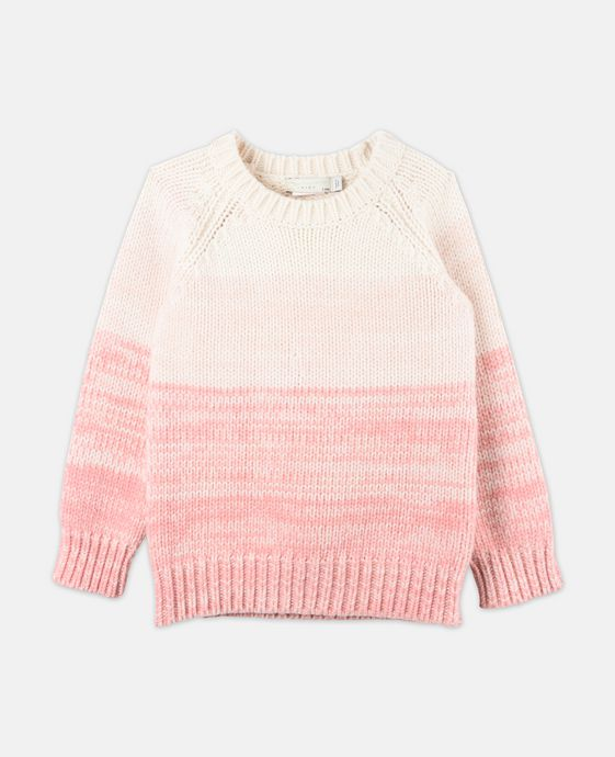 STELLA McCARTNEY KIDS Freddie Pink Knit Sweater Jumpers & Cardigans D c