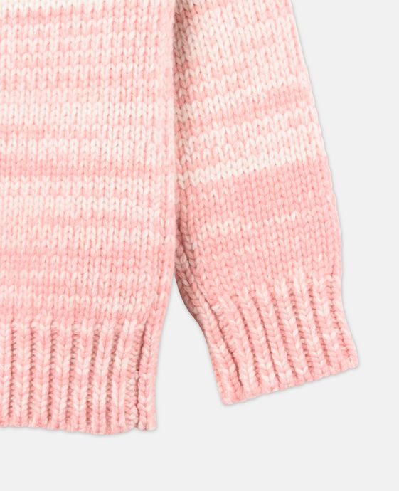 STELLA McCARTNEY KIDS Freddie Pink Knit Sweater Jumpers & Cardigans D g