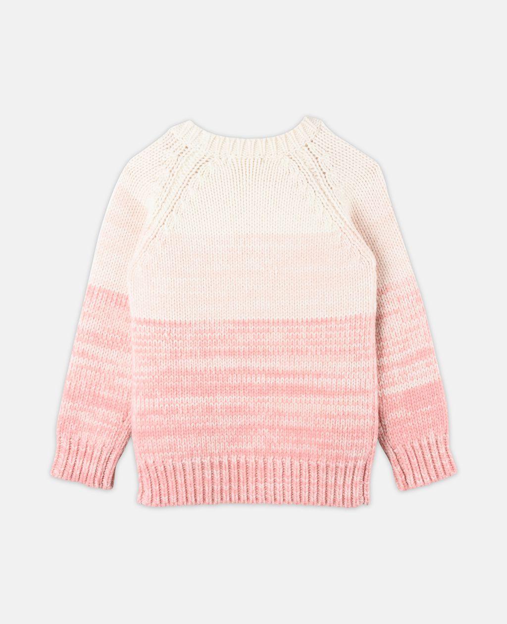 Freddie Pink Knit Sweater - STELLA MCCARTNEY KIDS