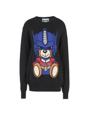 MOSCHINO Long sleeve sweater Woman f