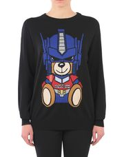 MOSCHINO Long sleeve sweater Woman r