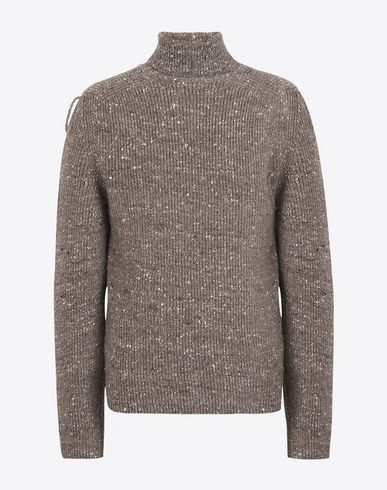 MAISON MARGIELA High neck sweater U Wool blend turtleneck sweater f