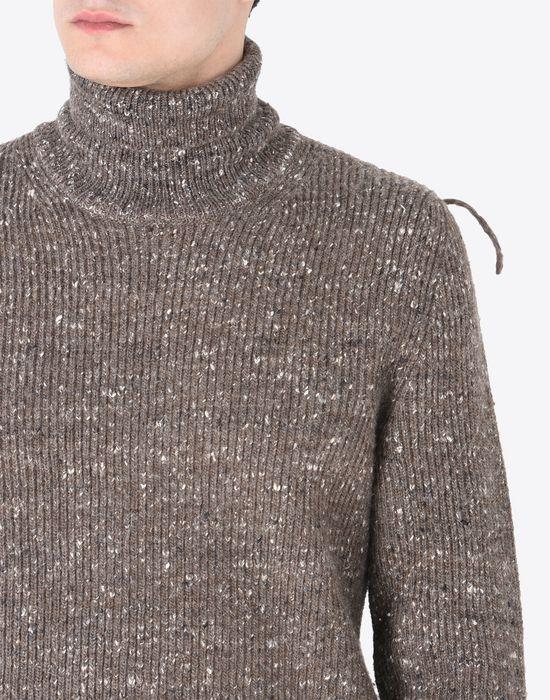 Maison Margiela Wool Blend Turtleneck Sweater Men |