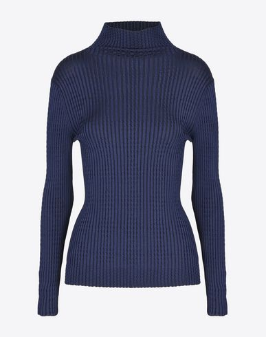 MAISON MARGIELA 1 Long sleeve jumper D Rib knit turtleneck f