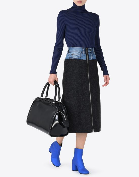 MAISON MARGIELA Rib knit turtleneck Long sleeve sweater Woman d