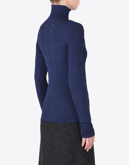 MAISON MARGIELA Rib knit turtleneck Long sleeve sweater Woman e