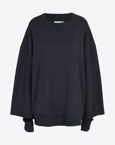 MAISON MARGIELA Sweatshirt D Sweatshirt with enlarged sleeves f