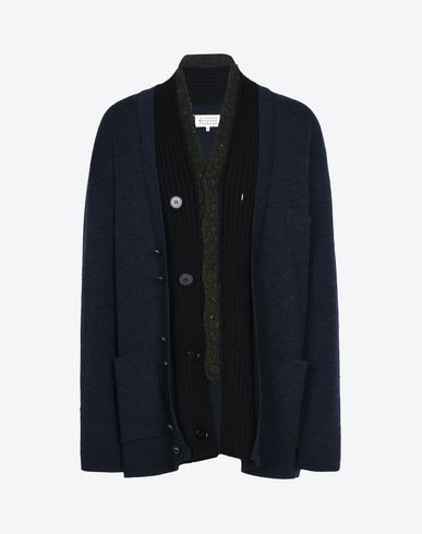 MAISON MARGIELA Cardigan U Fused button up cardigan f