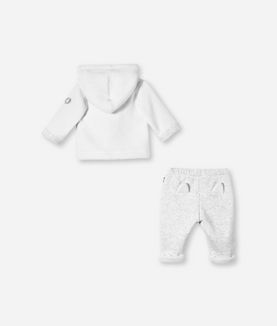 KARL LAGERFELD CARDIGAN AND SWEATPANT SET