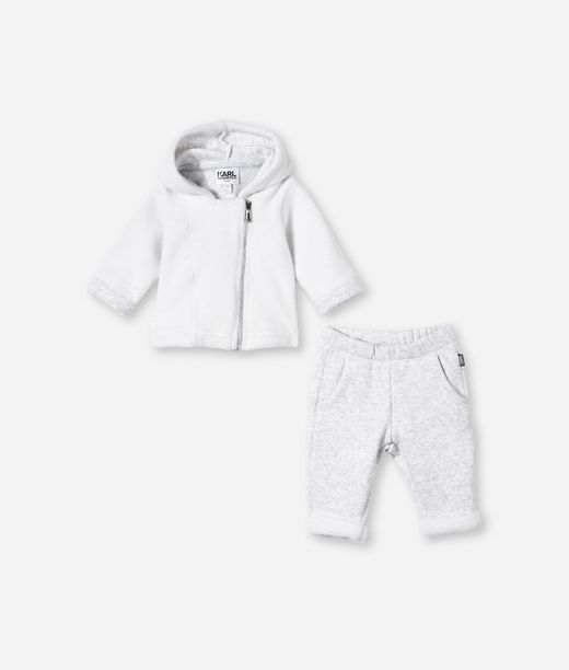 KARL LAGERFELD CARDIGAN AND SWEATPANT SET 12_f