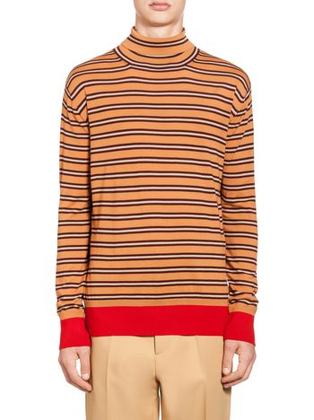 Marni Turtleneck sweater in wool  Man