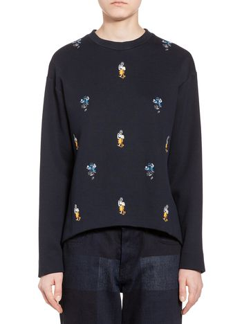 Marni Sweatshirt in double jersey Woman