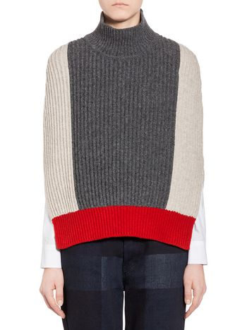 Marni Wool cape Woman