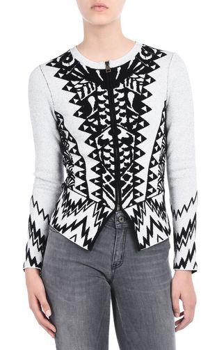JUST CAVALLI Long sleeve sweater D Long-sleeved jumper f