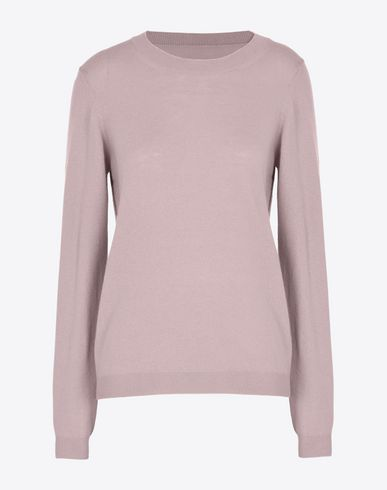 MAISON MARGIELA 4 Long sleeve jumper D Crewneck sweater with elbow patches f
