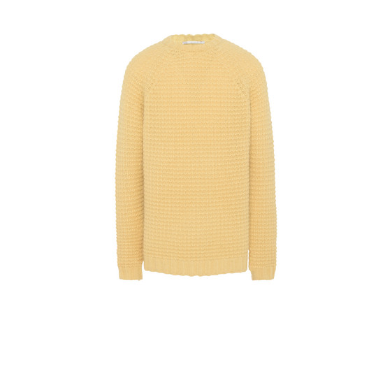 Lemon Mohair Kristoff Sweater