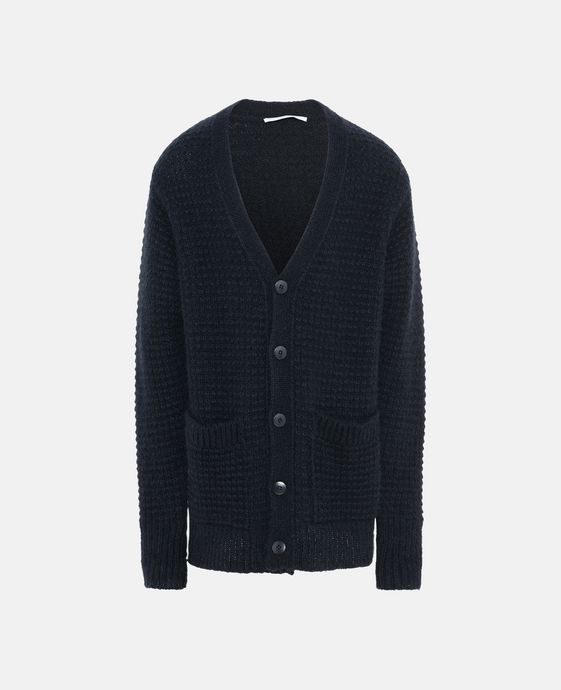 Midnight Mohair Keanu Cardigan