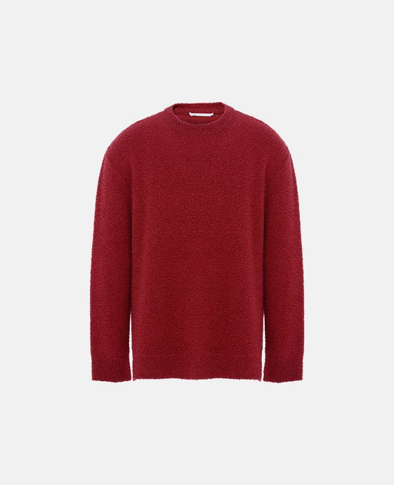Red Crew-Neck Kevin Jumper