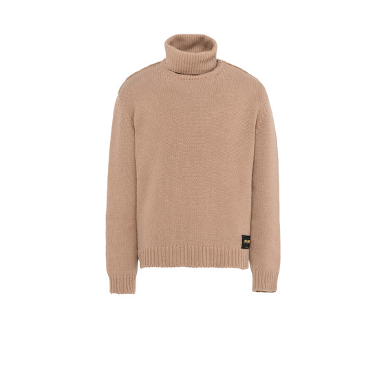 Camel Kemen Turtleneck Jumper