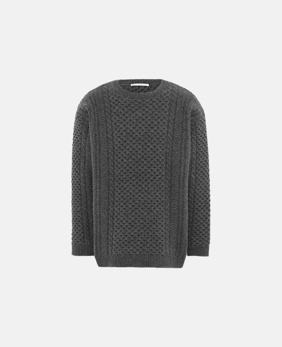 Grey Crew-Neck Kiley Jumper