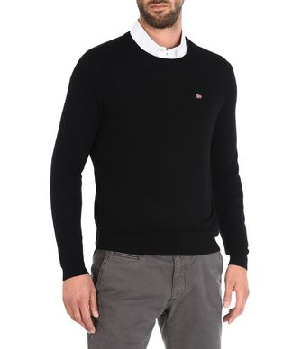 NAPAPIJRI DAMAVAND MAN CREWNECK,BLACK