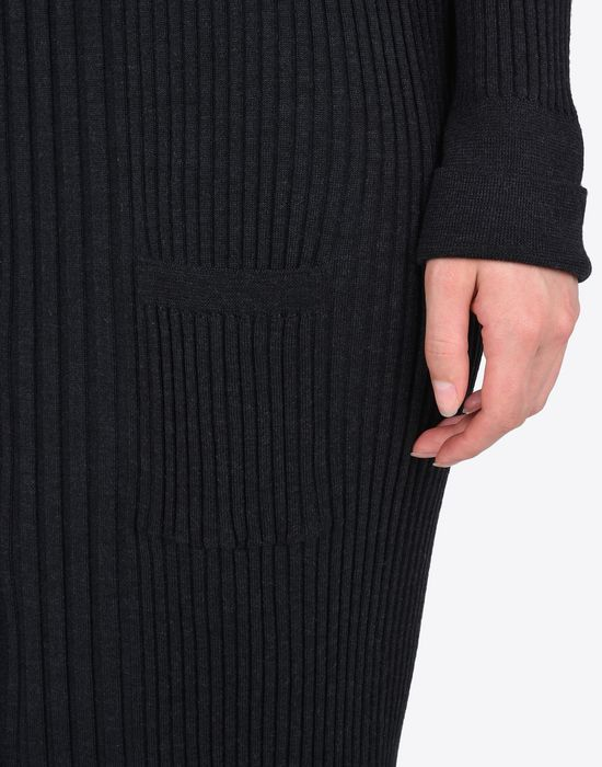 MAISON MARGIELA Elongated rib knit cardigan Cardigan D a