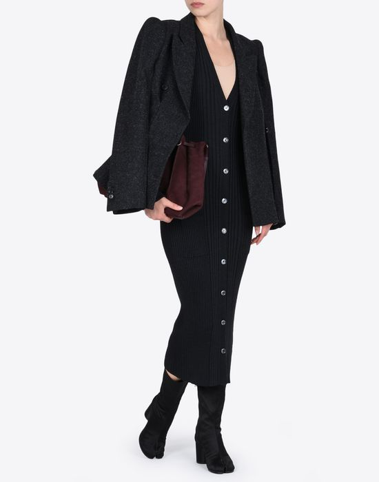 MAISON MARGIELA Elongated rib knit cardigan Cardigan D d