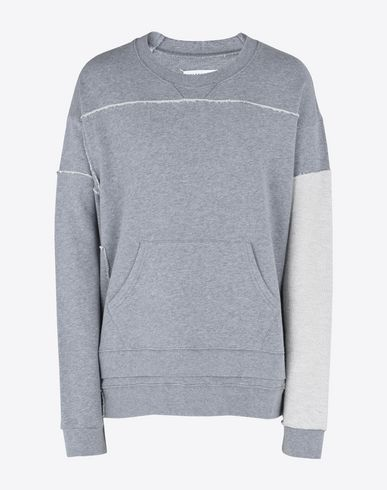 MAISON MARGIELA Sweatshirt U Oversized cotton sweatshirt f