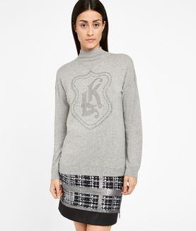 KARL LAGERFELD KL GEMSTONE SWEATER
