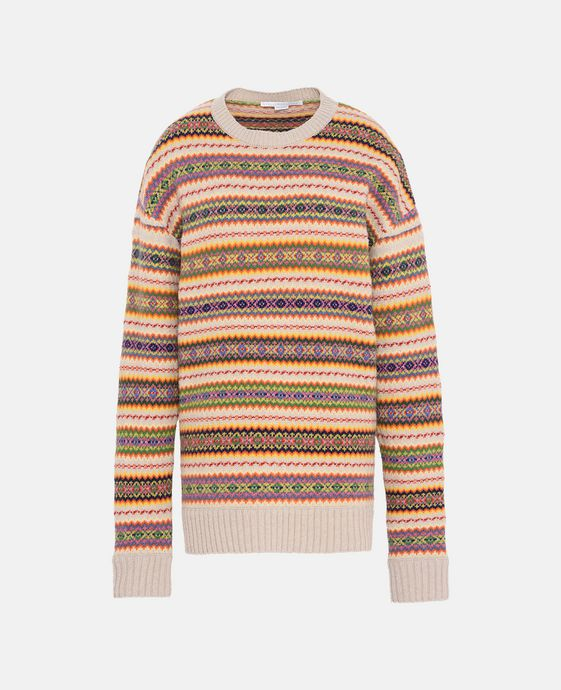 Fairisle Crew Neck Sweater