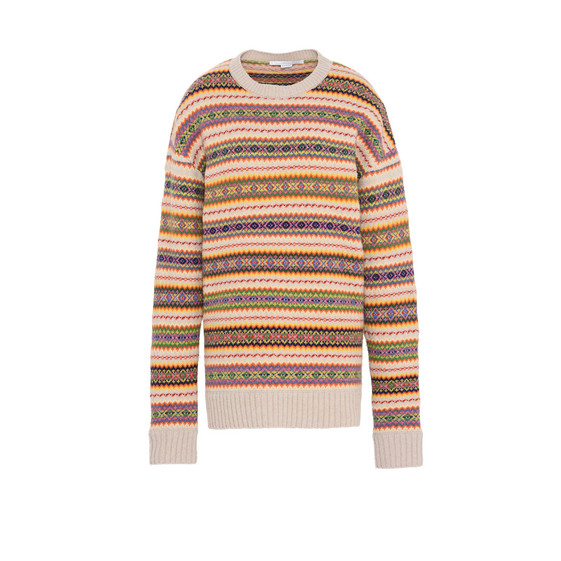 Fairisle Crew Neck Jumper