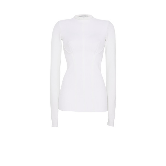 Cream Round Neck Jumper