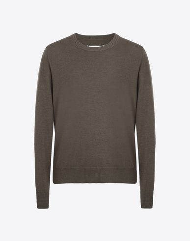 MAISON MARGIELA Crewneck sweater U Crewneck cotton wool blend sweater f