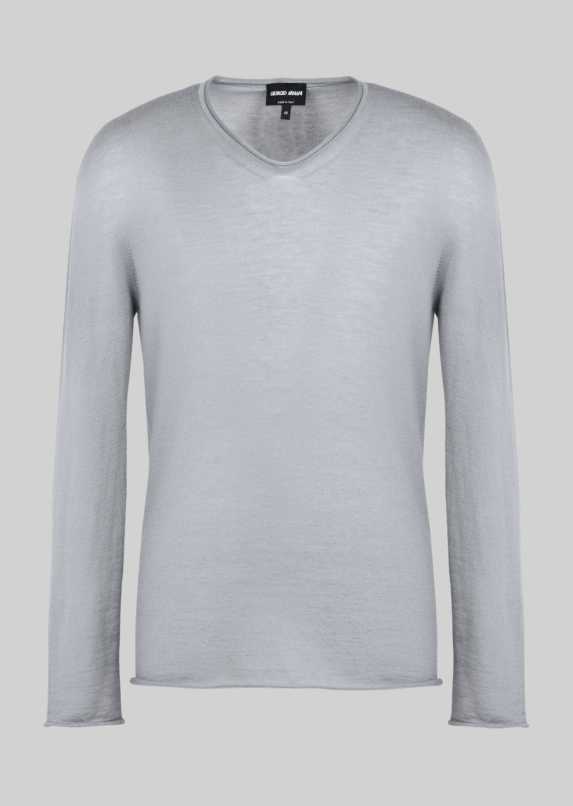 CASHMERE BLEND SWEATER for Men | Giorgio Armani