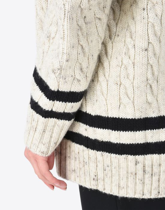MAISON MARGIELA Oversized cricket sweater Long sleeve sweater D a
