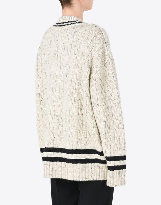 MAISON MARGIELA Oversized cricket sweater Long sleeve sweater D e