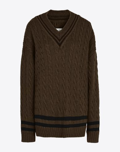 MAISON MARGIELA Pull manches longues D Pull cricket extra-large f