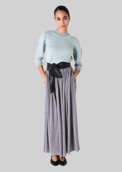 GIORGIO ARMANI Sweater D SWEATER IN WOOL AND MOHAIR f