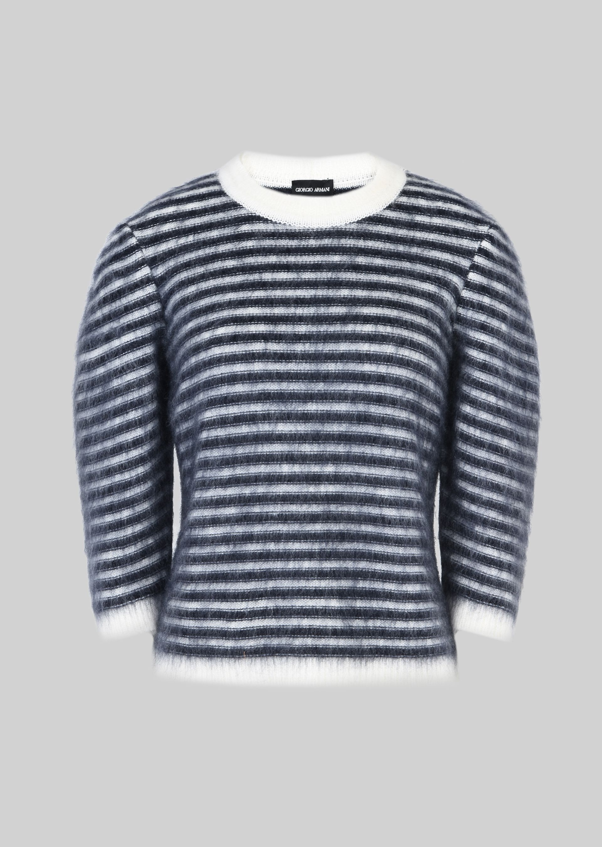 GIORGIO ARMANI SWEATER IN WOOL AND MOHAIR Sweater D r