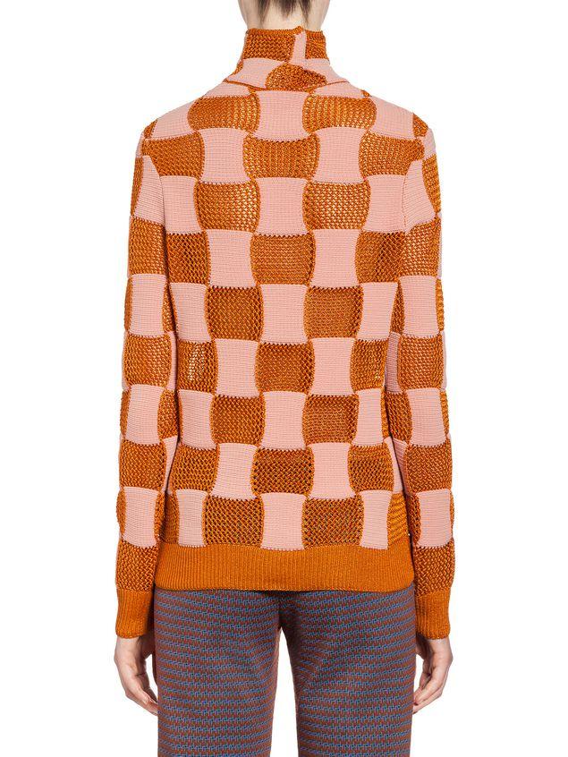 Marni Checkered knit in nylon Woman