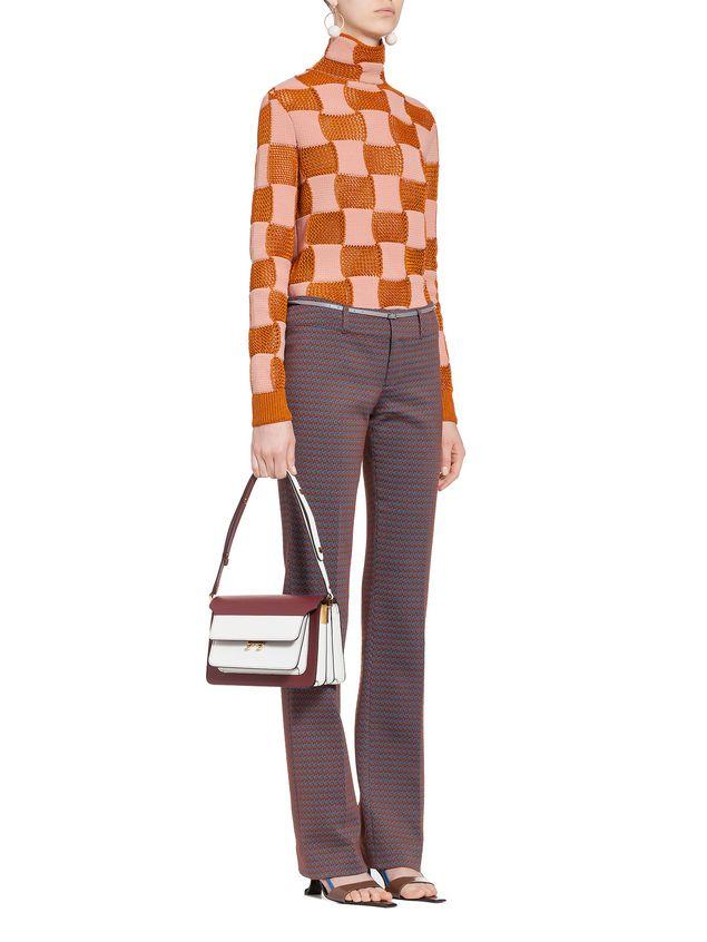 Marni Checkered knit in nylon Woman - 5