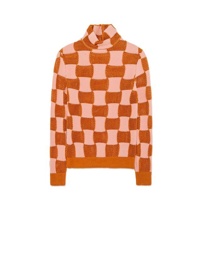 Marni Checkered knit in nylon Woman - 2