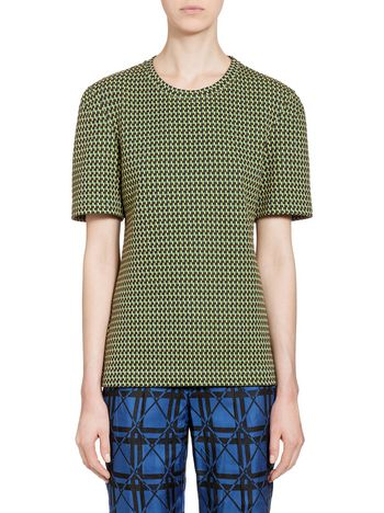 Marni Sweatshirt in micropatte Woman